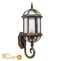 Настенный уличный светильник MW-Light Плимут 816020101