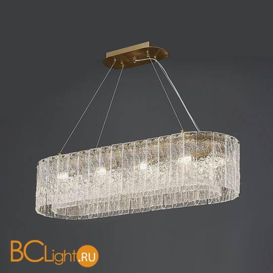 Подвесной светильник Newport 10820/90 brass oval