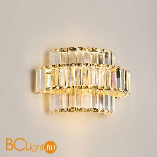 Настенный светильник Newport 8443/A gold