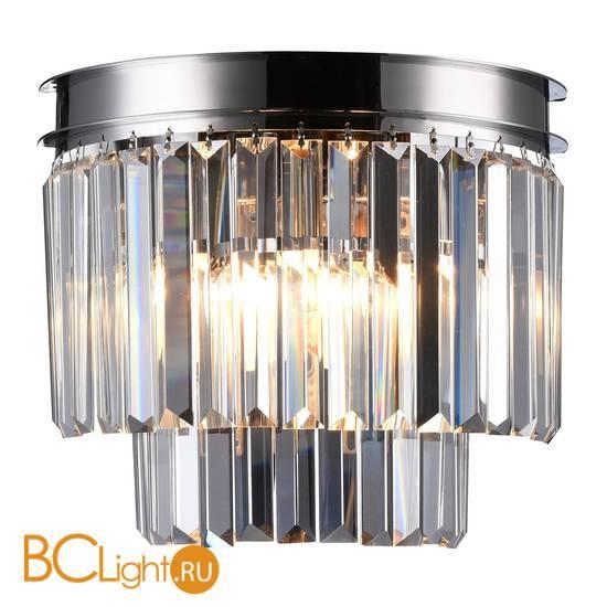 Настенный светильник Newport Jamestown 31101/A nickel