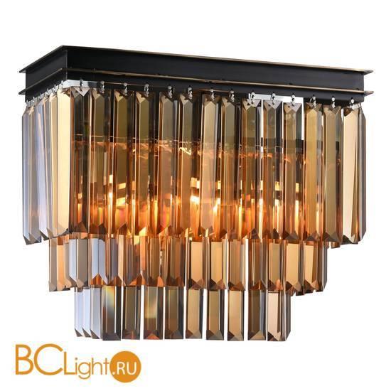 Настенный светильник Newport Jamestown 31102/A black+gold