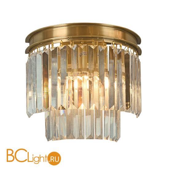 Настенный светильник Newport Jamestown 31101/A brass