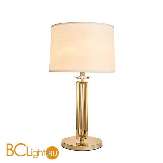 Настольная лампа Newport New Jersey 4401/T gold без абажура + Абажур для 4401/T white