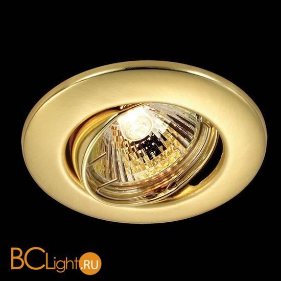 Встраиваемый спот (точечный светильник) Novotech Classic 369695