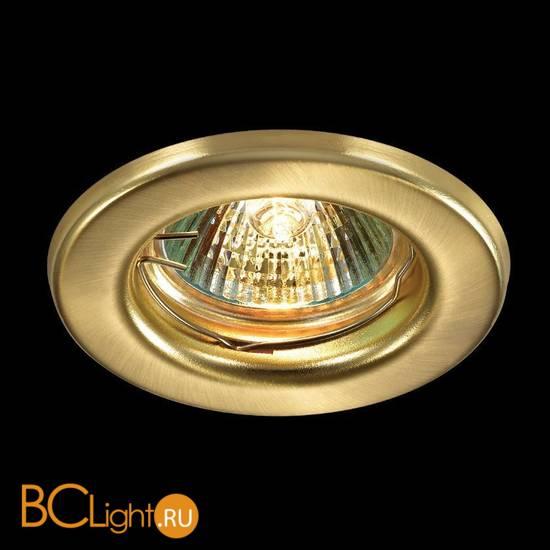 Встраиваемый спот (точечный светильник) Novotech Classic 369704