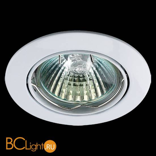 Встраиваемый спот (точечный светильник) Novotech Crown 369100