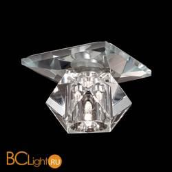 Встраиваемый спот (точечный светильник) Novotech Crystal 369422