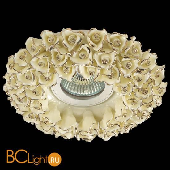 Встраиваемый спот (точечный светильник) Novotech Farfor 370045