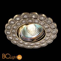 Встраиваемый спот (точечный светильник) Novotech Flower 369824
