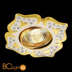 Встраиваемый спот (точечный светильник) Novotech Flower 369825