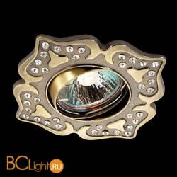 Встраиваемый спот (точечный светильник) Novotech Flower 369827