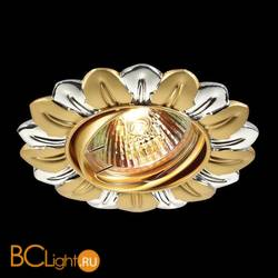 Встраиваемый спот (точечный светильник) Novotech Flower 369819