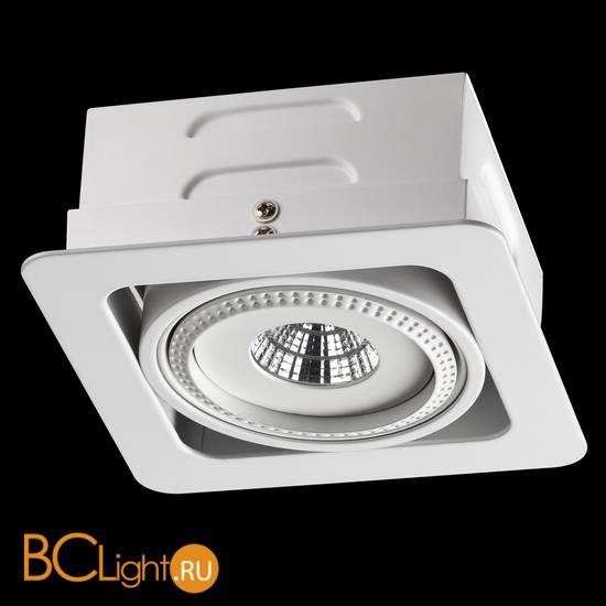 Встраиваемый спот (точечный светильник) Novotech Gesso 357577