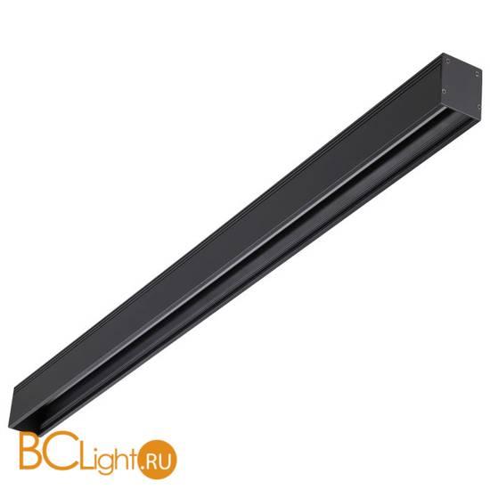 Шинопровод магнитный Novotech Kit 135025 2м черный с соединителями
