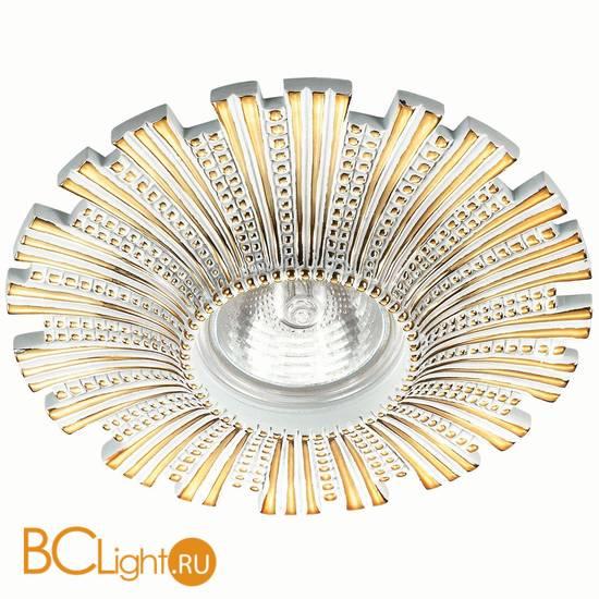 Встраиваемый спот (точечный светильник) Novotech Pattern 370325