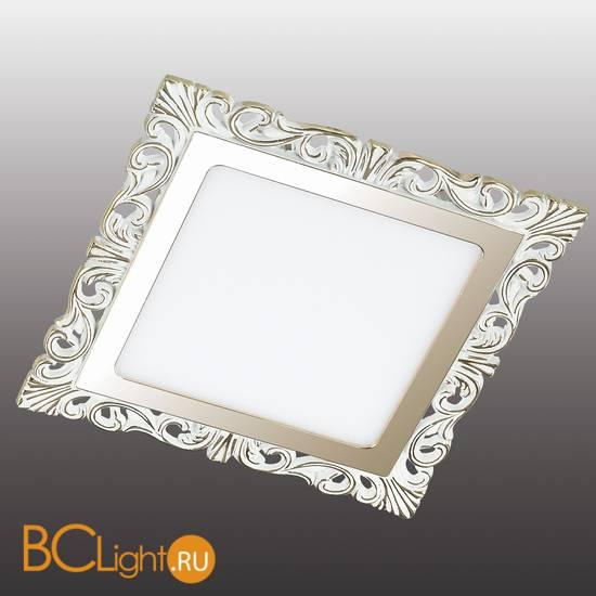 Встраиваемый спот (точечный светильник) Novotech Peili 357279