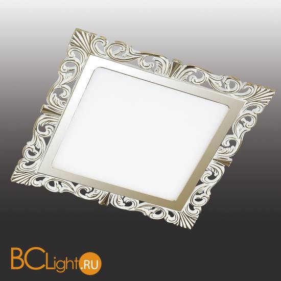 Встраиваемый спот (точечный светильник) Novotech Peili 357280