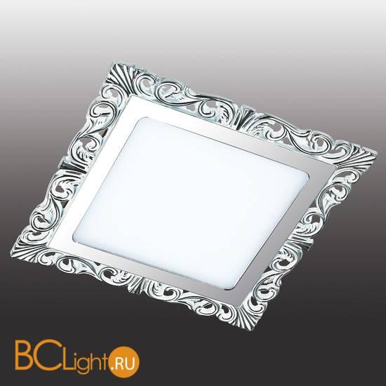 Встраиваемый спот (точечный светильник) Novotech Peili 357281