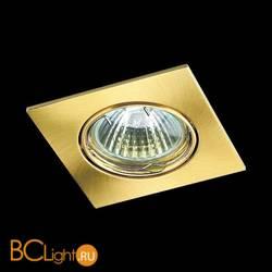 Встраиваемый спот (точечный светильник) Novotech Quadro 369107