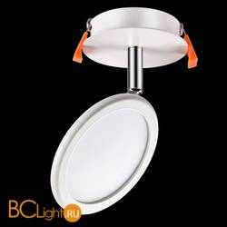 Встраиваемый спот (точечный светильник) Novotech Solo 357454