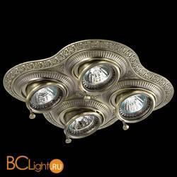 Встраиваемый спот (точечный светильник) Novotech Vintage 370178