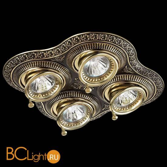 Встраиваемый спот (точечный светильник) Novotech Vintage 370180