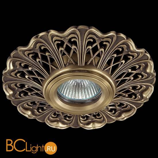Встраиваемый спот (точечный светильник) Novotech Vintage 370030