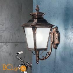 Настенный уличный светильник Orion Leuchten AL 11-1138/1 Patina/aufwarts