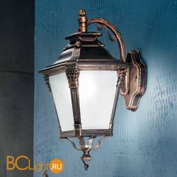 Настенный уличный светильник Orion Leuchten AL 11-1138/1 Patina/abwarts