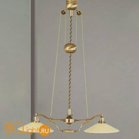 Люстра Orion LU 1411/2 patina/Zug/365 champagne