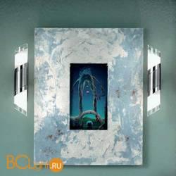 Настенный светильник Orion Soff 3-456/2 satin/450 klar-matt