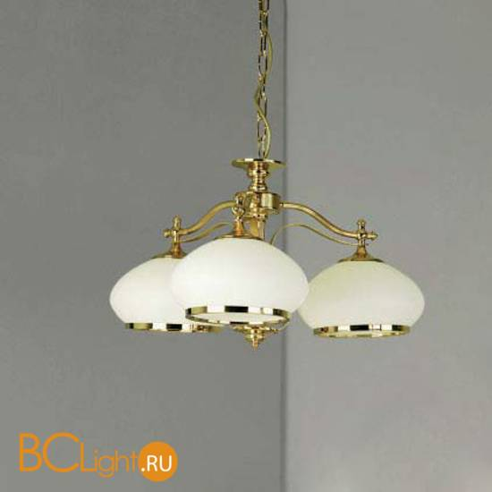 Люстра Orion LU 1460/3 gold/385 opal-gold