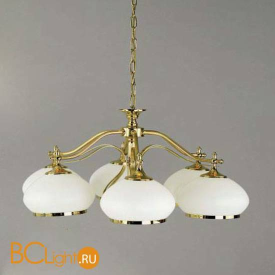 Люстра Orion LU 1460/6 gold/385 opal-gold