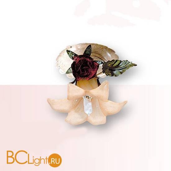 Спот (точечный светильник) Passeri International Rose F 6215/1 Dec. 05