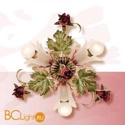 Настенно-потолочный светильник Passeri International Rose PL 5245/3 Dec. 05