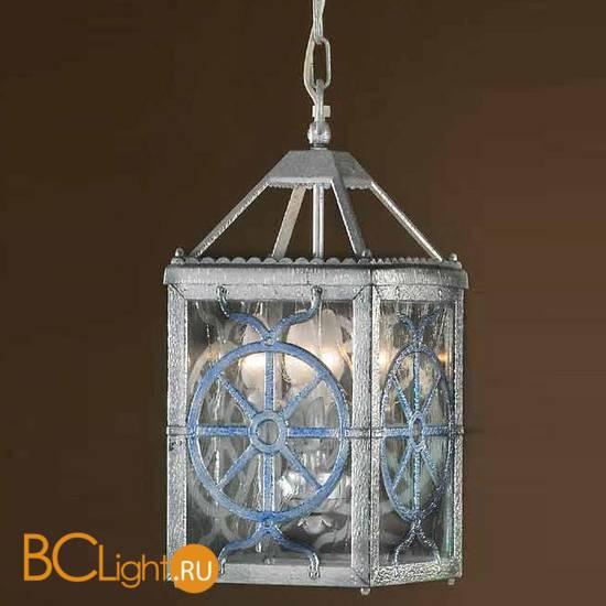 Подвесной светильник Passeri International L 7625/4 Dec. 095 + Blue