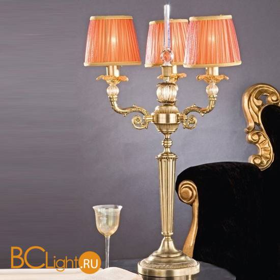 Настольная лампа Passeri International Ottone LG 7235/3 Dec. 086 + 087