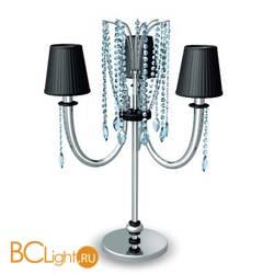 Настольная лампа Prearo Noir 2131/L/CR
