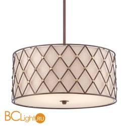 Подвесной светильник Quoizel Brown Lattice QZ/BROWNLATT/P/L