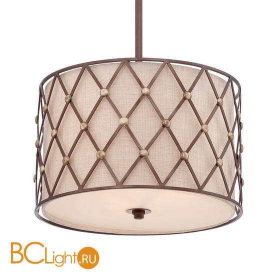 Подвесной светильник Quoizel Brown Lattice QZ/BROWNLATT/P/M
