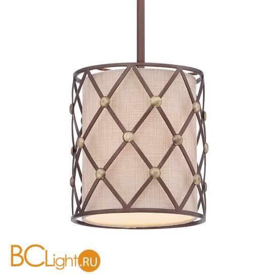 Подвесной светильник Quoizel Brown Lattice QZ/BROWNLATT/P/S