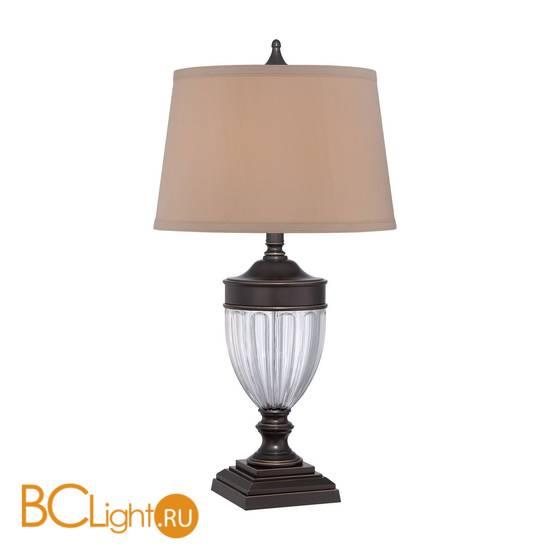Настольная лампа Quoizel Dennison QZ/DENNISON PB