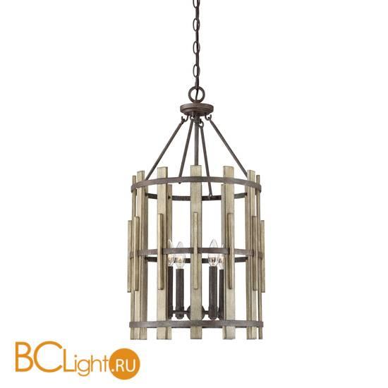 Подвесной светильник Quoizel Wood Hollow QZ/WOODHOLLOW/4P