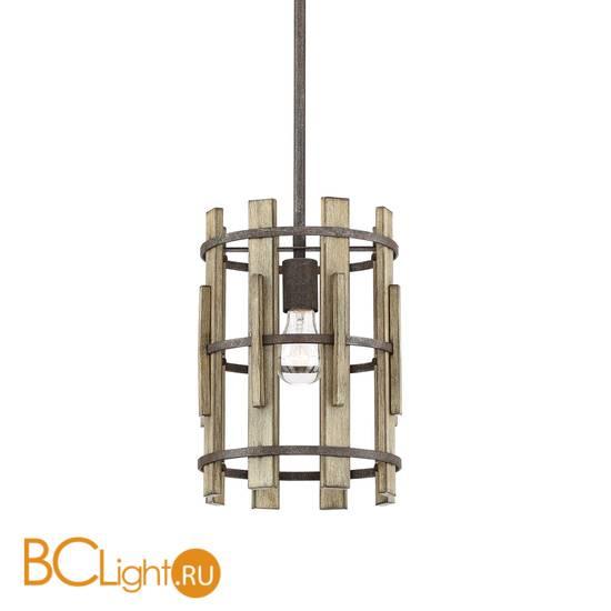 Подвесной светильник Quoizel Wood Hollow QZ/WOODHOLLOW/MP