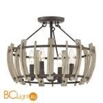 Потолочный светильник Quoizel Wood Hollow QZ/WOODHOLLOW/SF
