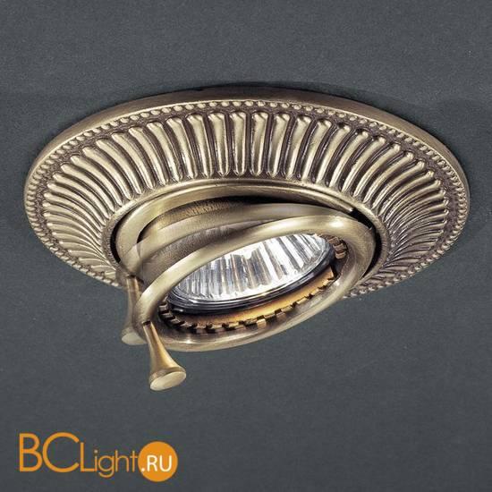 Спот (точечный светильник) Reccagni Angelo SPOT 1082 BRONZO