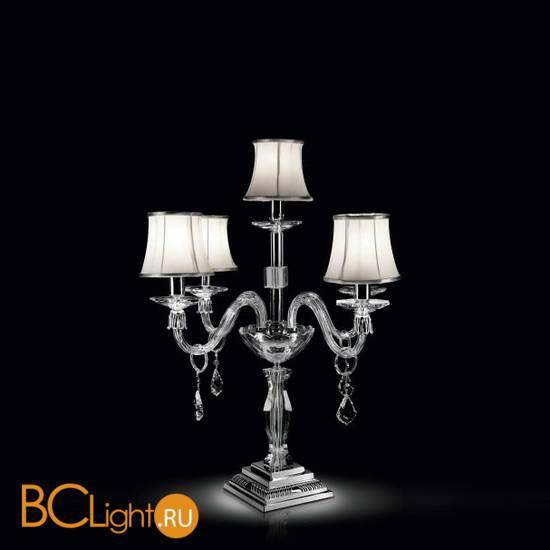 Настольная лампа Renzo Del Ventisette LSG 14353/4+1 CP DEC. OZ