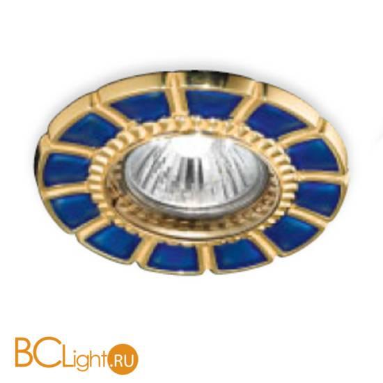 Встраиваемый спот (точечный светильник) Renzo Del Ventisette FA 14395/1 DEC. OL BLUE
