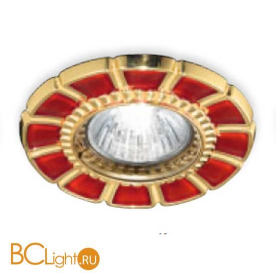 Встраиваемый спот (точечный светильник) Renzo Del Ventisette FA 14395/1 DEC. OL RED