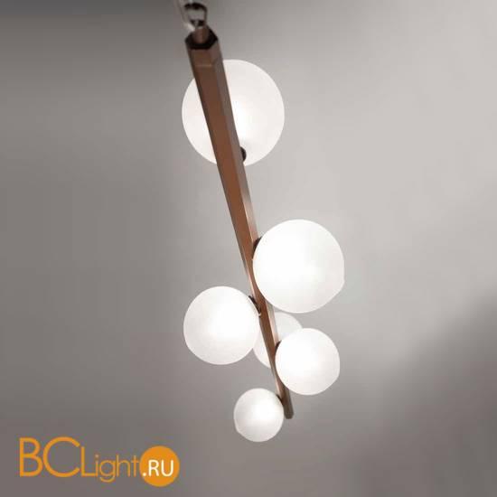 Подвесной светильник Renzo Del Ventisette Ohlala S14563/6 DEC. 0157 SFERE SATINATE